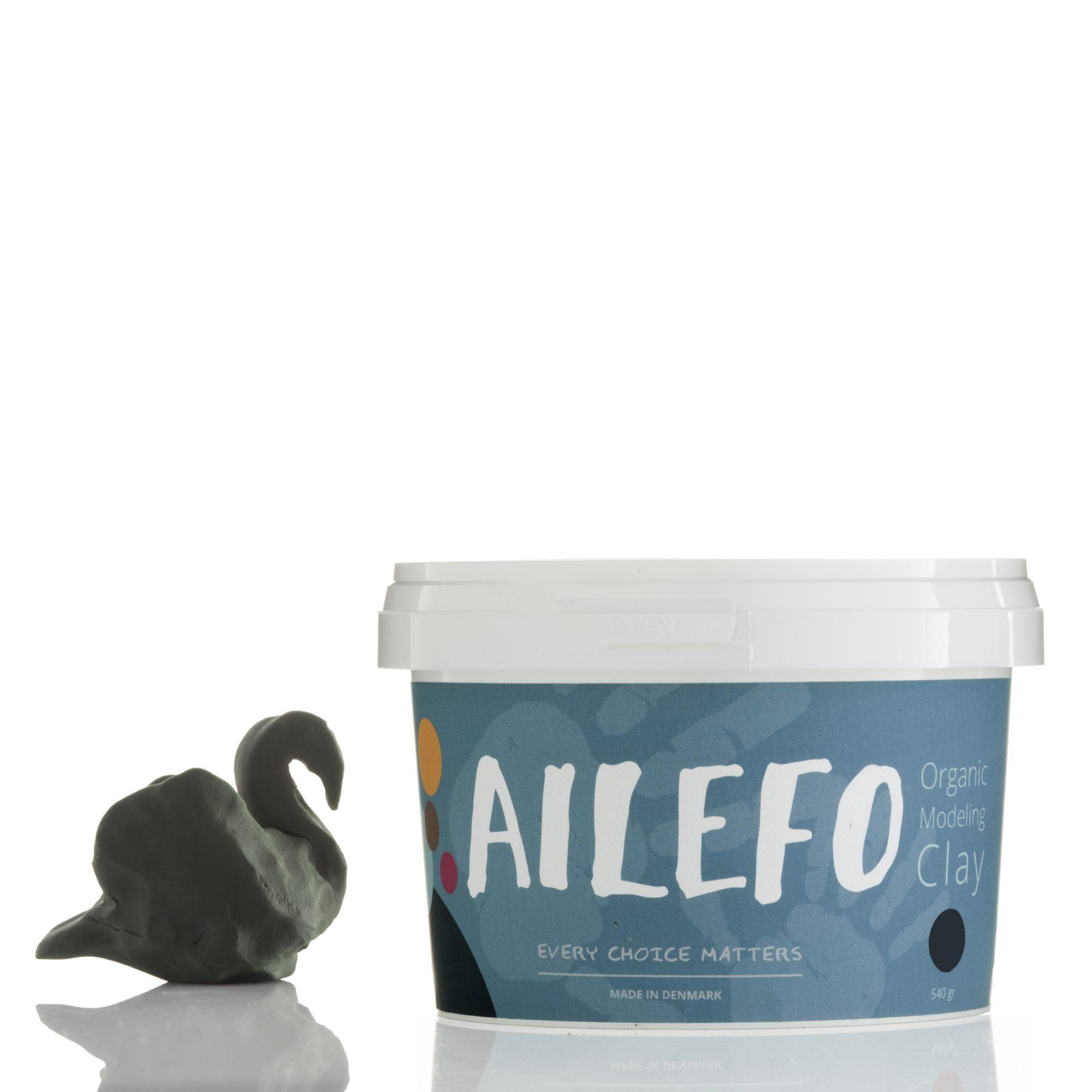 Ailefo Økologisk Modellervoks, grøn
